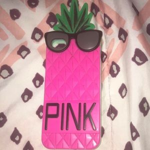 Name brand PINK iPhone 5 case